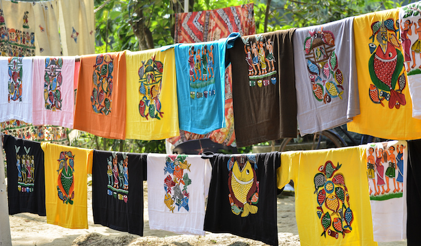 Patachitra T-Shirts  Funky and Traditional