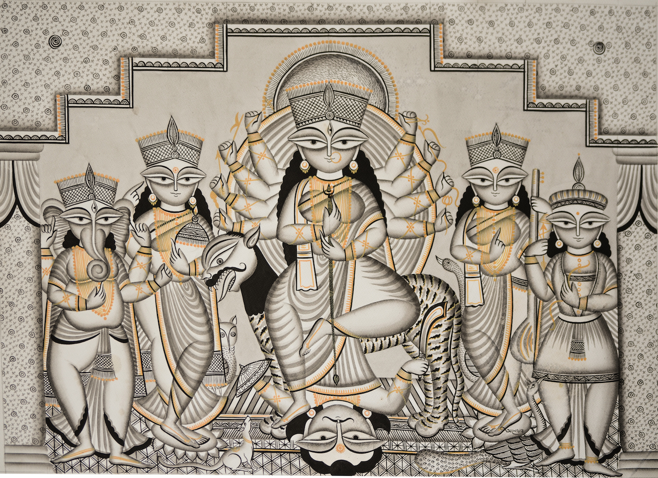 Hindu Goddess: Maa Durga Sanskrit meaning: 'The Invincible'