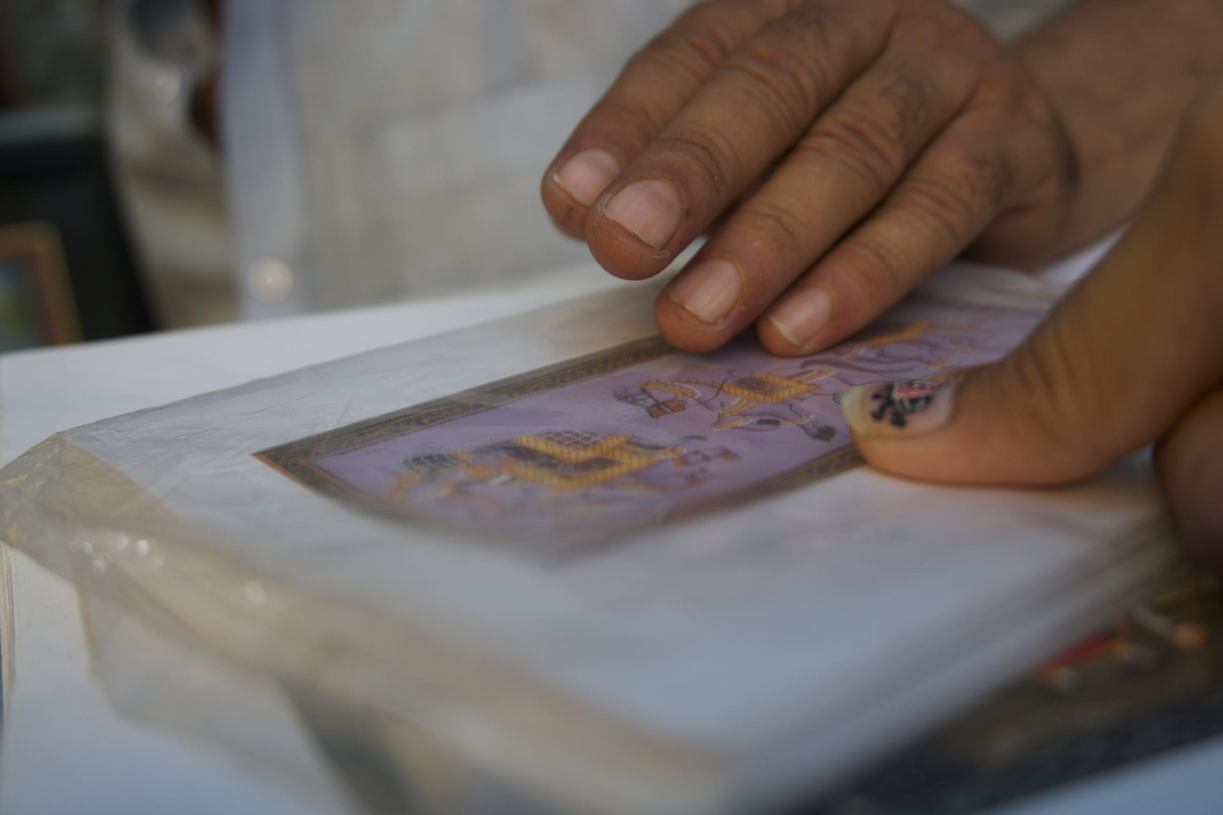 True Talent: Miniature Painting, Jodhpur, Rajasthan