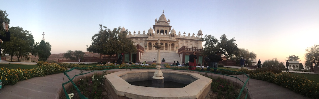 Panoramic View of Jaswant Thada Memorial