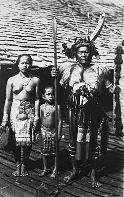 Traditional Iban Family