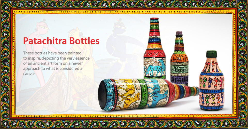 patachitra bottle