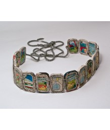 Belt Rectangle beads 17