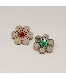 Brooch FL beads 7 VVT
