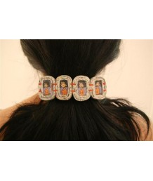 Hairclip 4 2RE beads