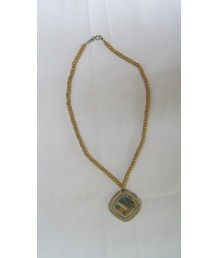 Necklace Square bord bead small 1