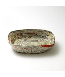 Rolled Bowl Rectangle 19